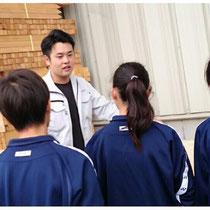 藤井寺中学校の皆さんが・・・