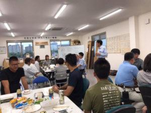 7月のチームミーティング