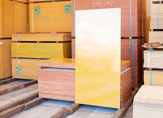 コンクリート型枠用塗装合板